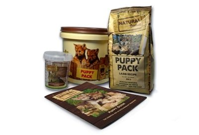 Natural greatness puppy pack lamb