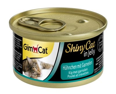 Gimcat shinycat in jelly kip / garnalen